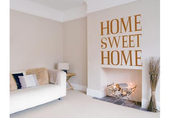 Wandtattoo Home sweet home 2