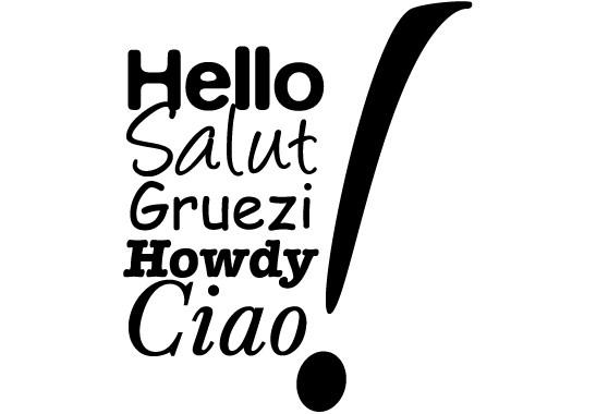 Glasdekor Hello & Ciao - Bild 6