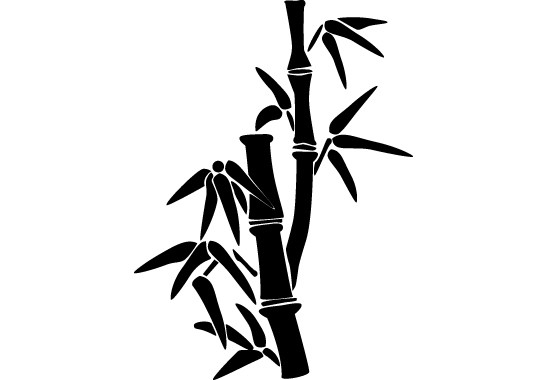 Glasdekor Bambusbäumchen - Bild 6