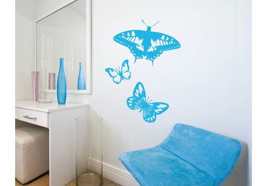 Wandtattoo Butterflies