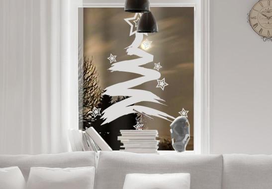 Glasdekor Sternenbaum - Bild 2