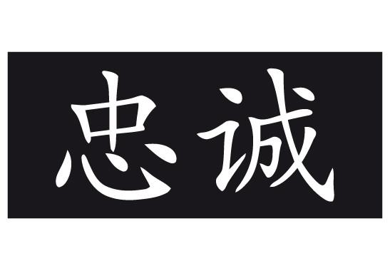 Sichtschutz Chinesisch für Treue - Bild 6