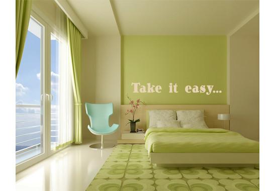 Wandtattoo Take it easy