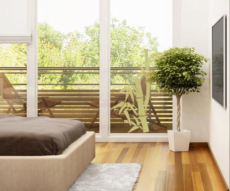 Glasdekor Bambusbäumchen - Bild 3