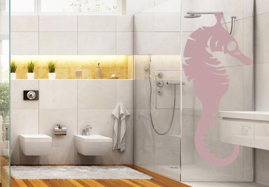 Glasdekor Seepferdchen - Bild 4