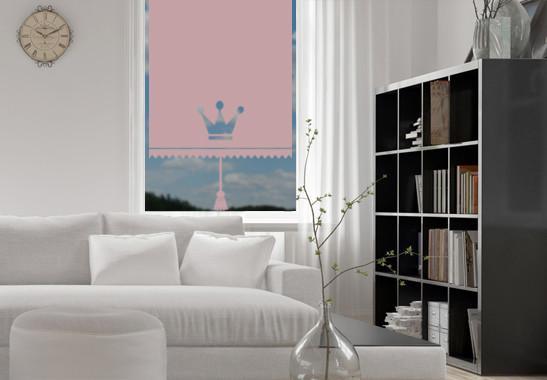 Sichtschutz Prinzessinnen Rollo - Bild 4