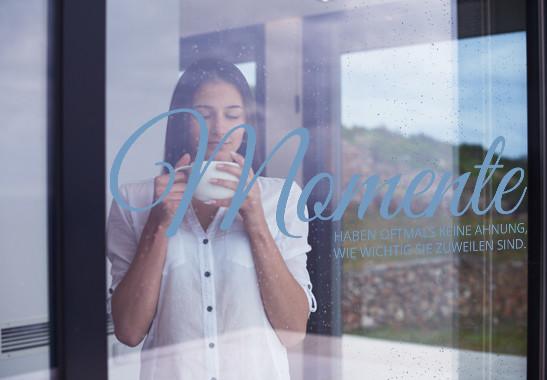 Glasdekor Momente