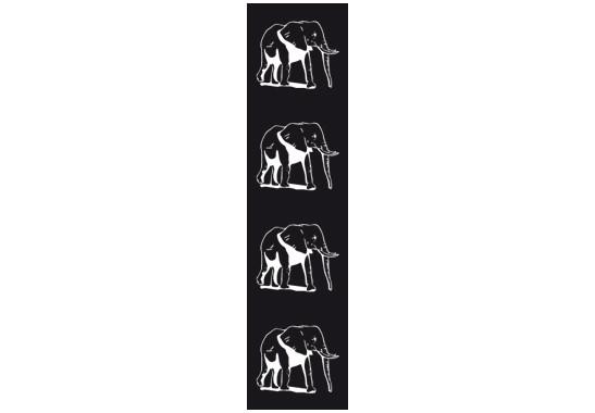 Sichtschutz Vier Elefanten - Bild 6