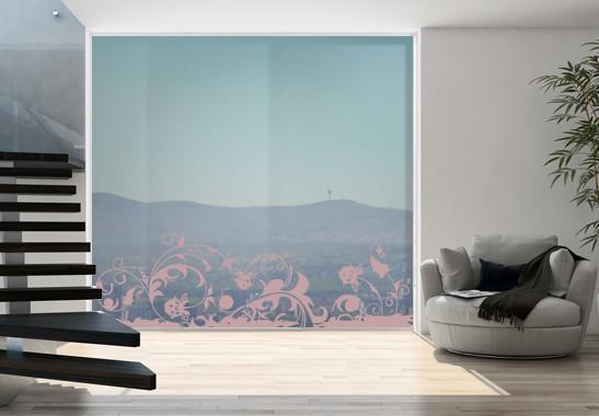 Glasdekor Wilder Garten - Bild 4
