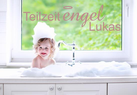 Glasdekor Wunschtext Teilzeit Engel - Bild 4