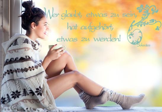 Glasdekor Sokrates Zitat - Bild 5