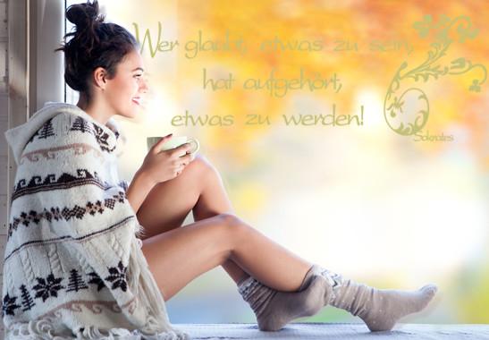 Glasdekor Sokrates Zitat - Bild 3
