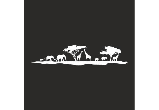 Sichtschutz Afrikanische Safari - Bild 6