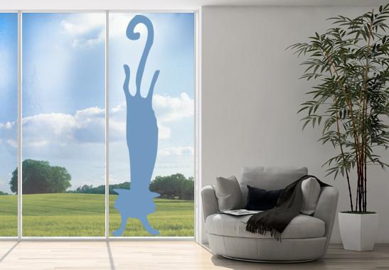 Glasdekor Katzen Handstand