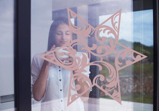 Glasdekor Eisstern - Bild 4