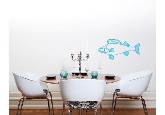 Wandtattoo Fisch Detailliert