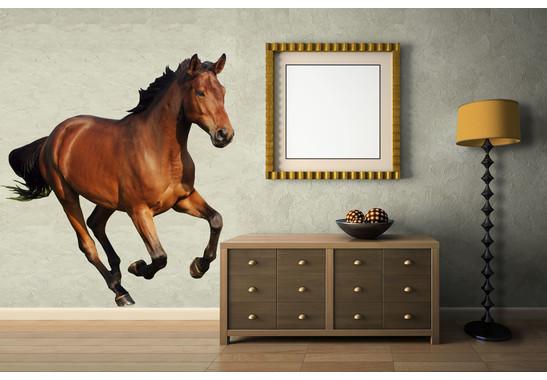 Wandtattoo The Running Horse