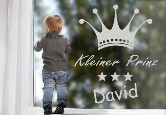 Glasdekor Wunschtext Prinz - Bild 2