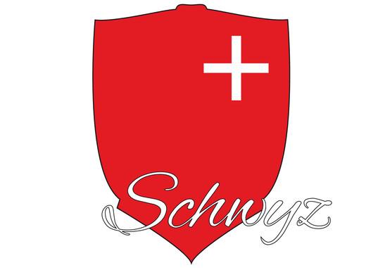 Wandtattoo Kanton Schwyz - Bild 2