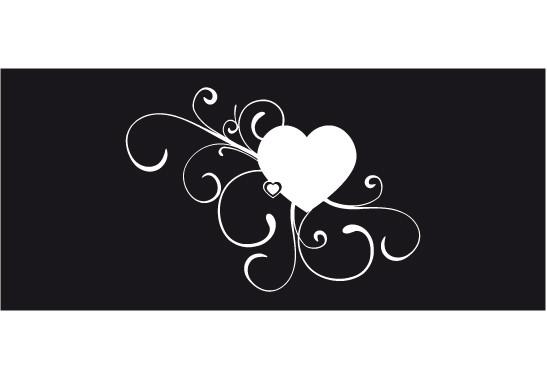Glasdekor Erblühende Liebe - Bild 6