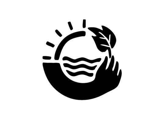schwarz/weiss Ansicht - Wandtattoo Save the Planet