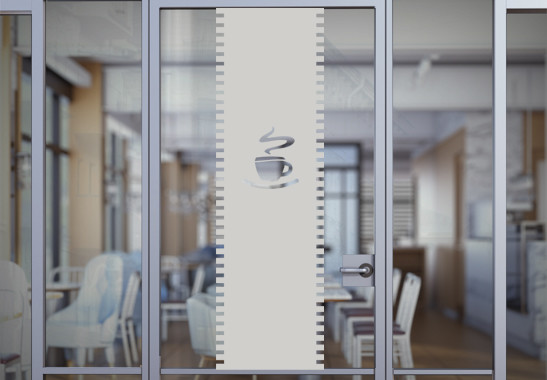 Sichtschutz Café Rollo - Bild 2