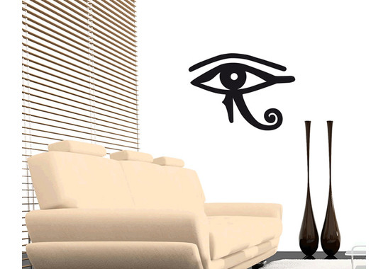 Wandtattoo Eye of Ra Power symbol