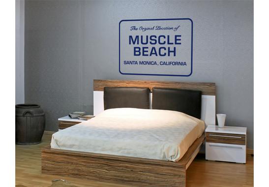 Wandtattoo Muscle Beach St. Monica