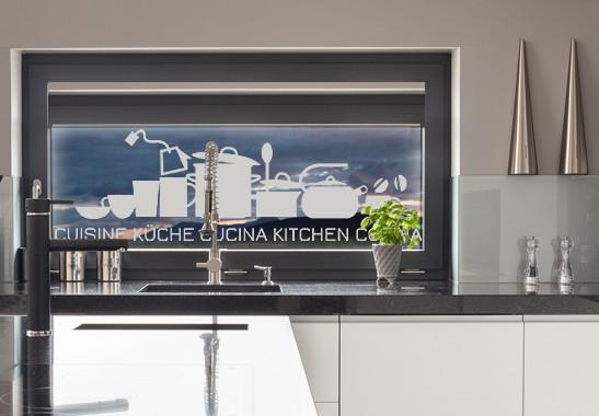 Glasdekor Küche und Cucina - Bild 2