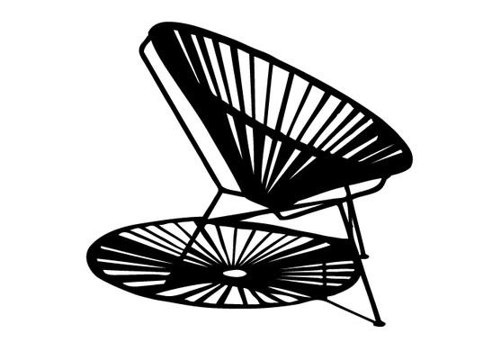schwarz/weiss Ansicht - Wandtattoo Design classic Toy