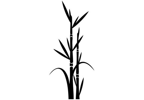 Glasdekor Bambus - Bild 6