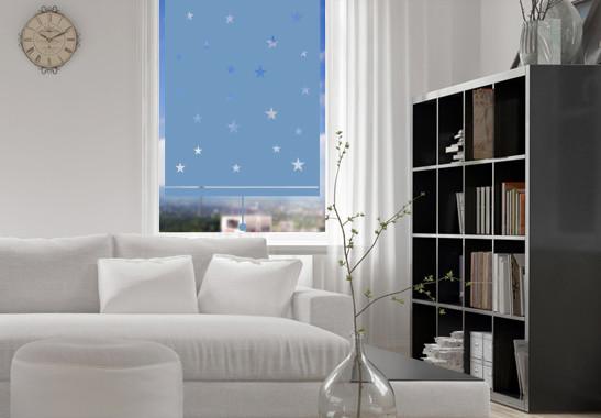 Sichtschutz Nachthimmel Rollo