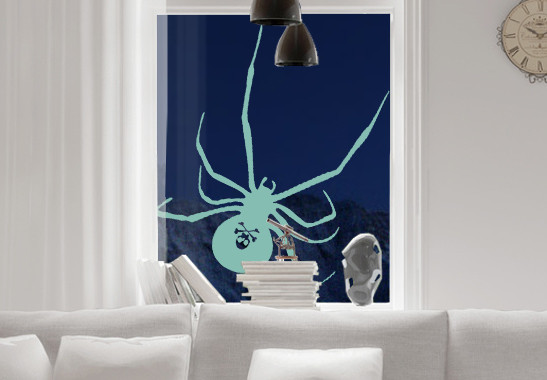 Glasdekor Gruselspinne - Bild 5