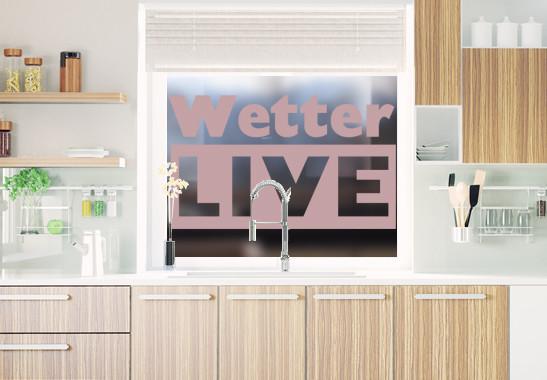 Glasdekor Livewetter - Bild 4