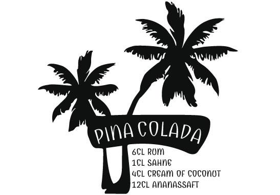 Glasdekor Pina Colada Rezept - Bild 6