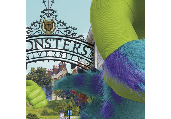 Fototapete Monsters University Wallbreaker - Bild 2