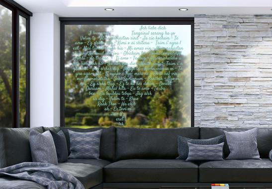 Glasdekor Die Sprache der Liebe - Bild 5