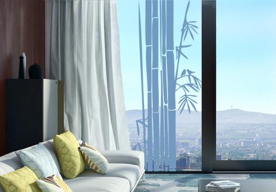Glasdekor Bambusstrauch