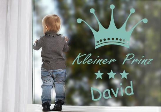 Glasdekor Wunschtext Prinz - Bild 5