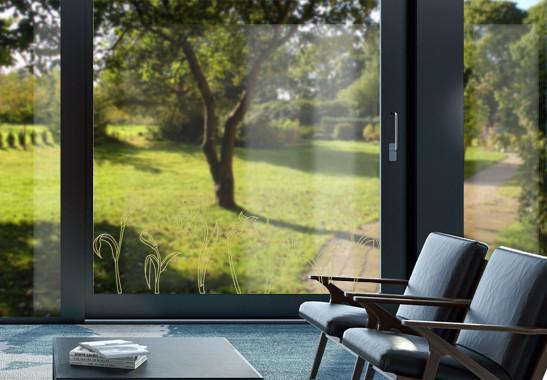 Glasdekor Jugendstil Narzissen - Bild 3
