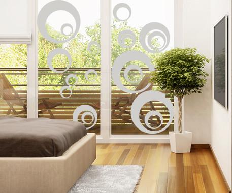Glasdekor Retro Kreise - Bild 2