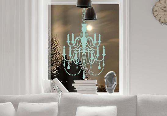 Glasdekor Kristall Kronleuchter - Bild 5