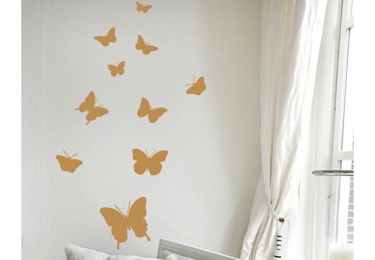 Wandtattoo Schmetterling
