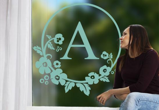 Glasdekor Wunschtext Emblem - Bild 5