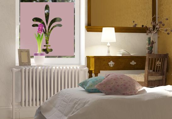 Sichtschutz Lilien Ornamentik - Bild 4