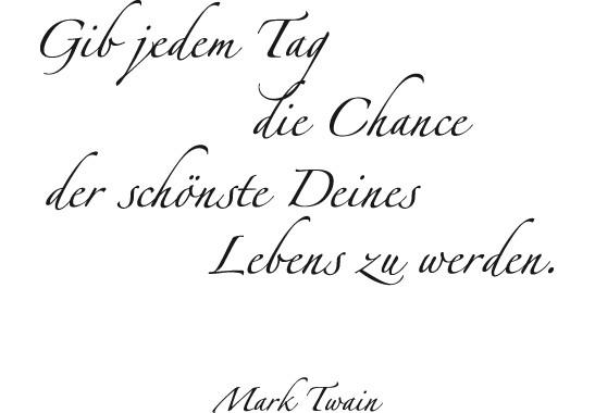 Glasdekor Mark Twain Zitat - Bild 6