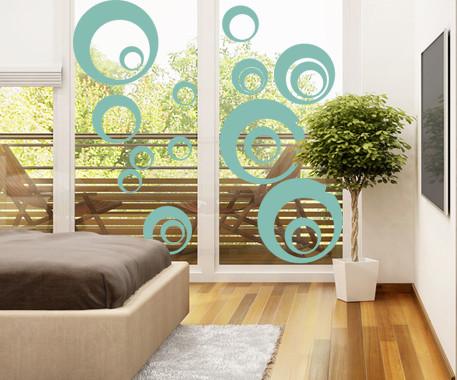 Glasdekor Retro Kreise - Bild 5