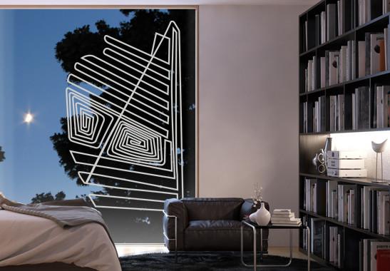 Glasdekor Nazca Linien - Bild 2