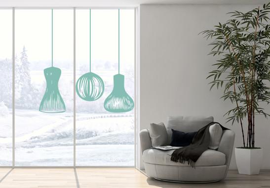 Glasdekor Lampionschirme - Bild 5