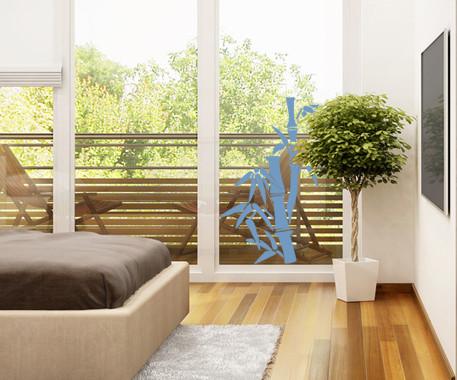 Glasdekor Bambusbäumchen